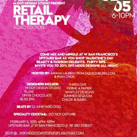 Retail therapy xoxo edition event