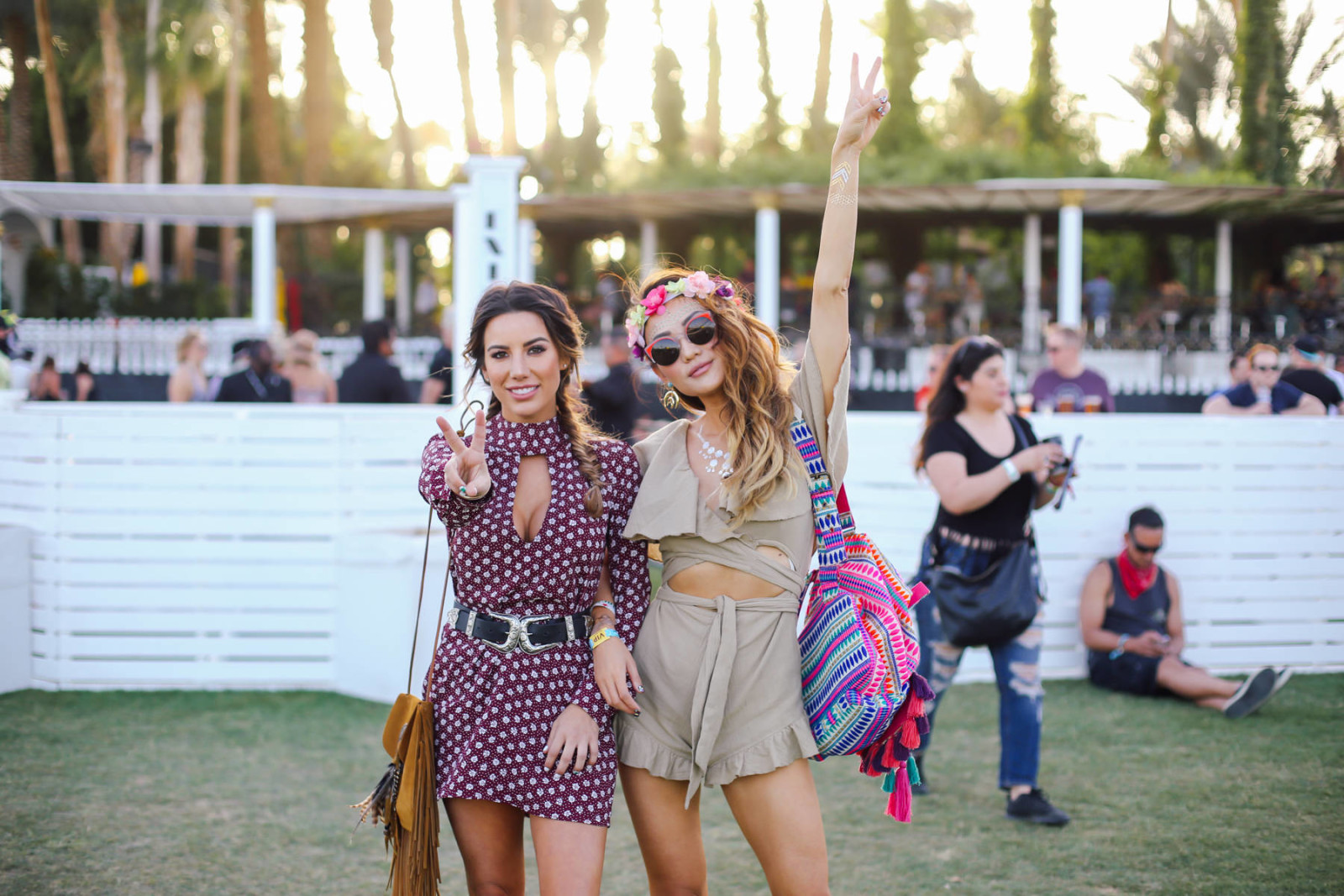 Ariana Lauren bag Coachella 2016