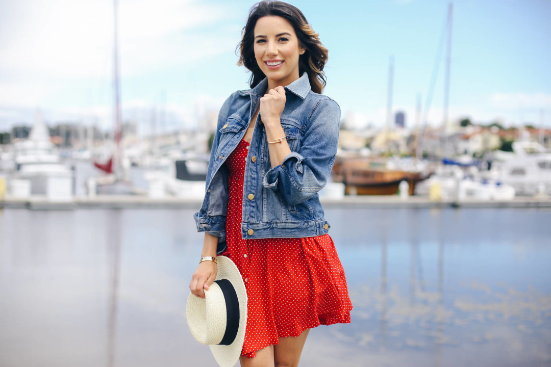 denim-jacket-red-dress-memorial-day-ariana-lauren-fashionborn-san-francisco-ryanbyryanchua-8850